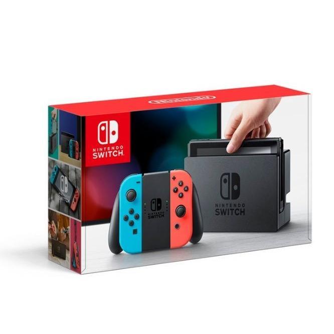 (3■3B)Nintendo Switch 本体 ネオンブルー/ネオンレッド/▲ZA
