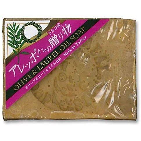 アレッポからの贈り物 ローレルオイル配合石鹸 190g|marue-drug
