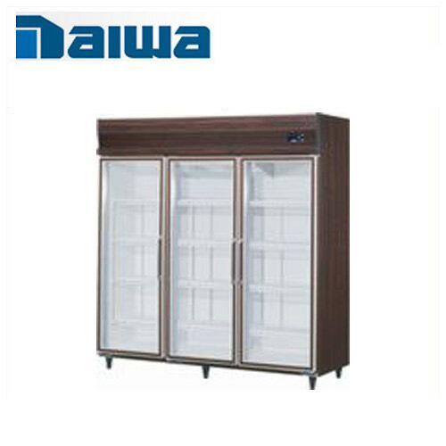 大和冷機工業 リーチインショーケース(機械上置、インバーター制御) 611YKP-EC ダイワ 業務用 業務用ショーケース 冷蔵ショーケース