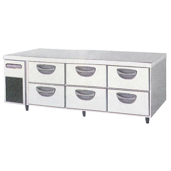 福島工業 2段ドロワータイプ冷蔵庫 TBC-550RM3 業務用 業務用冷蔵庫 ドロワー ドロワー冷蔵庫 ドロワーテーブル フクシマ