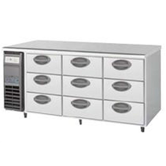 福島工業 3段ドロワータイプ冷蔵庫 YDW-160RM2 業務用 業務用冷蔵庫 ドロワー ドロワー冷蔵庫 ドロワーテーブル フクシマ