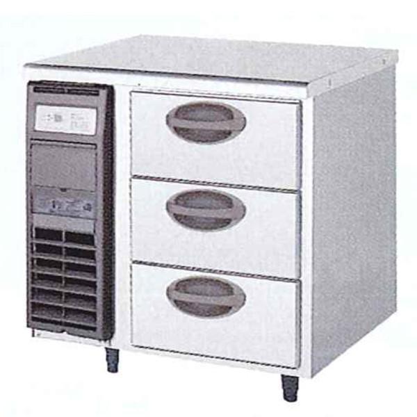 福島工業 3段ドロワータイプ冷蔵庫 YDW-080RM2 業務用 業務用冷蔵庫 ドロワー ドロワー冷蔵庫 ドロワーテーブル フクシマ