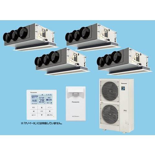 Panasonic パナソニック Hシリーズ「標準」 天井ビルドインカセット形 冷暖房 同時ダブルツイン PA-P280F6HV 業務用エアコン エアコン