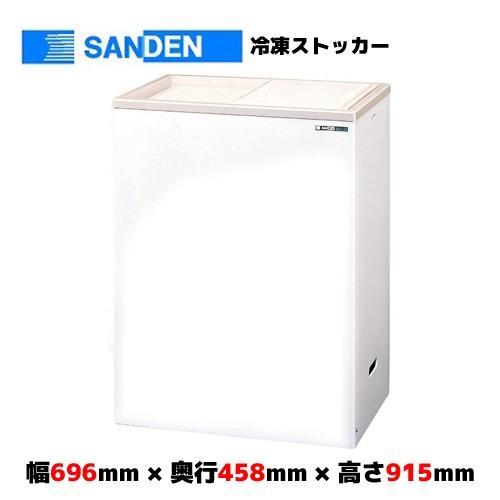 サンデン 冷凍ストッカー コンパクトフリーザー PF-120XF
