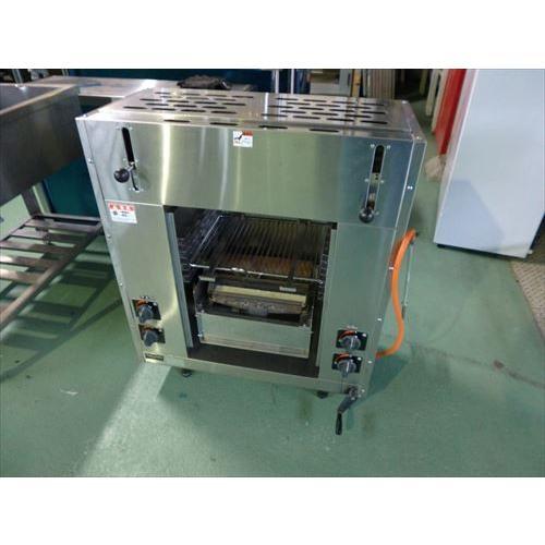 【中古】【送料都度見積】 マルゼン 両面焼物器 MGKW-073