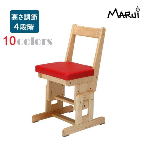 ひのき学習チェアColors 10色 国産ヒノキ無垢 自然オイル塗料 学習机椅子 学習机椅子 子供部屋家具 日本製