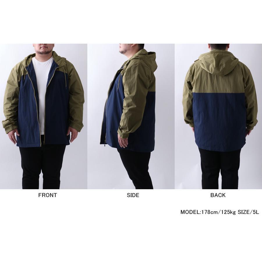 大きサイズ メンズ ウインドブレーカー|marukawa7|09