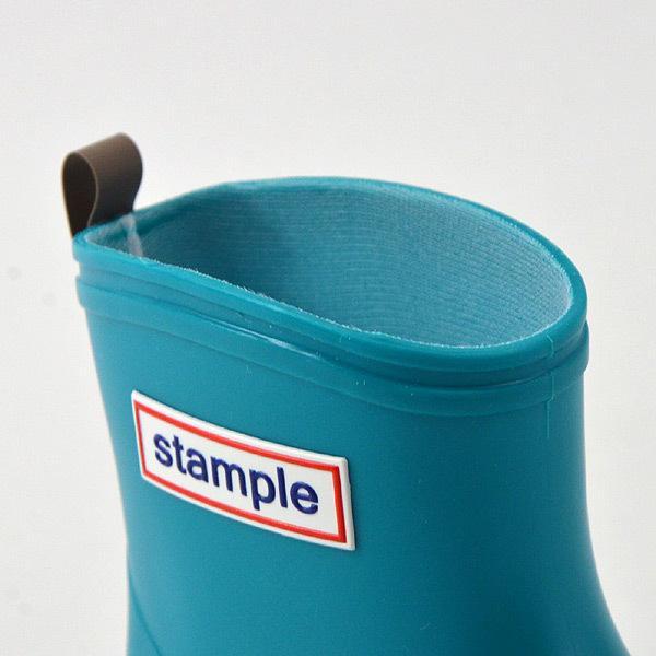 レインブーツ 長靴 子供用 キッズ ベビー 通園 シンプル 男の子 女の子 13.0cm-20.0cm 日本製 stample スタンプル 75005-BOT 8000097|marumiya-world|13