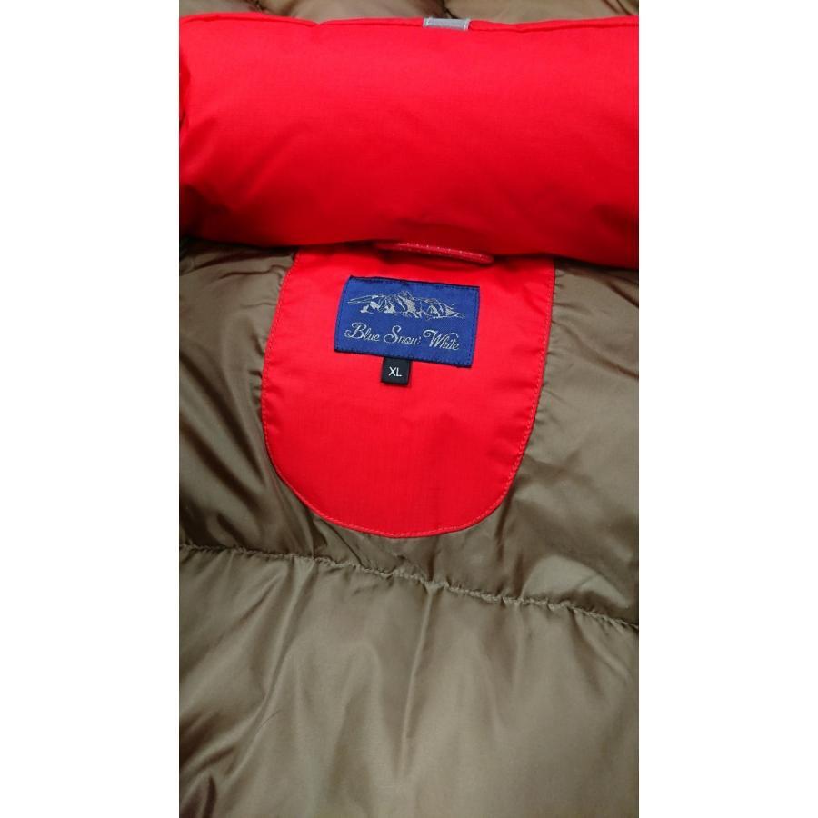Blue Snow White / マルニオリジナルダウンジャケット 日本製 |maruni-jeans|08