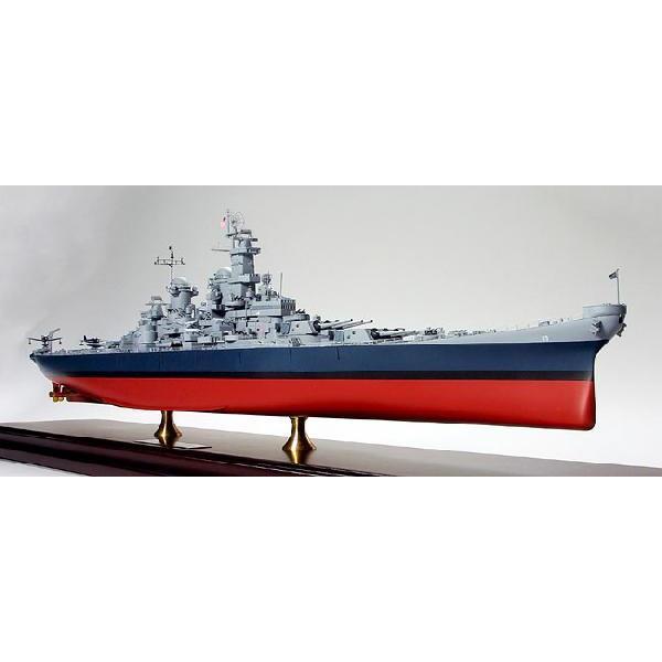 タミヤ1/350アメリカ海軍 戦艦ミズーリ(完成品)