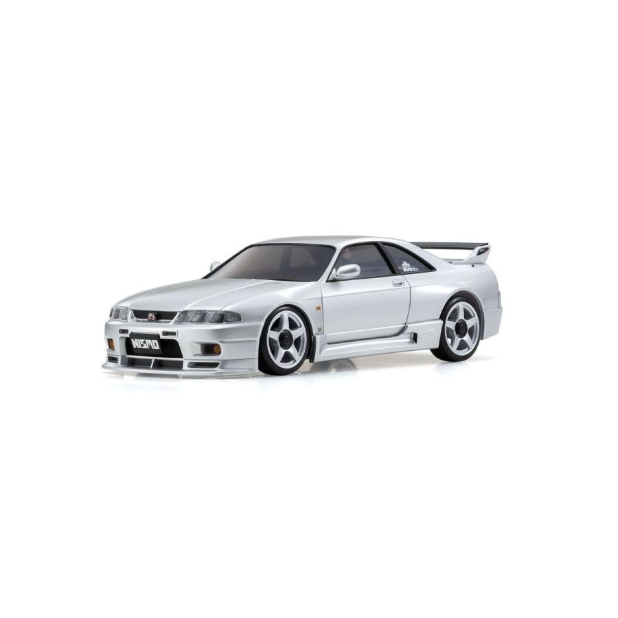 予約受付中!ミニッツAWD 日産 スカイライン GT-R ニスモ(R33) シルバー レディセット 京商 32616S