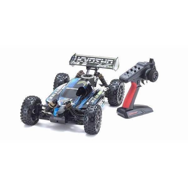 インファーノ NEO 3.0 カラータイプ1 ブルー KT-231P+付き 1/8 GP 4WD レディセット 33012T1
