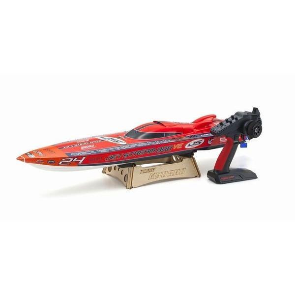 EPジェットストリーム888VE レディセット KT-231P+付 (京商:40232S2完成RC電動レーシングボートセット)