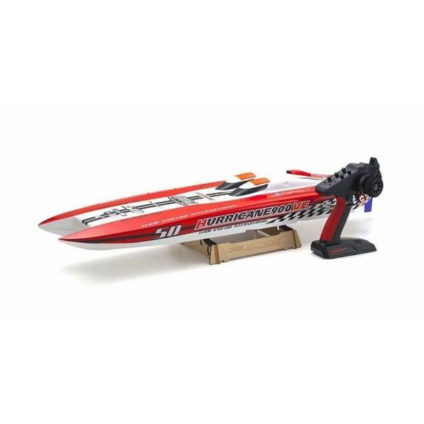ハリケーン900VE レディセット電動レーシングボート  バッテリー&チャージャー別売  京商  40235S