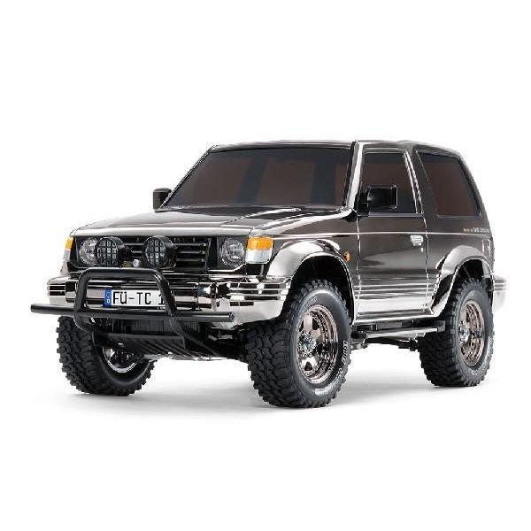 三菱パジェロ メタルトップワイド ブラックメタリックスペシャル 1/10電動 4WD RCカー組立キット タミヤ 47375