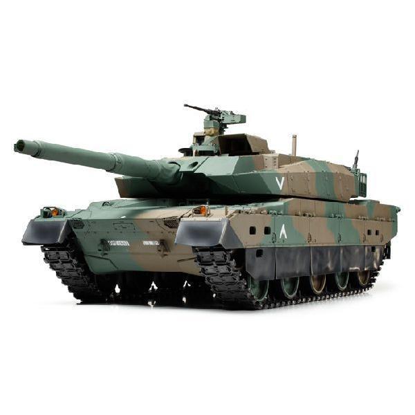 タミヤ:56036 陸上自衛隊 10式戦車 フルオペレーションセット(プロポ付)組立キット
