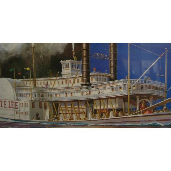 ■リンドバーグ■1/163ロバート・E・リー蒸気船【プラモデル】70864