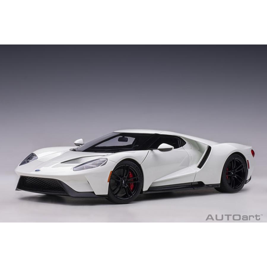 予約受付中!オートアート(AUTOart) オートアート 1/18 フォード GT 2017(ホワイト) 72941