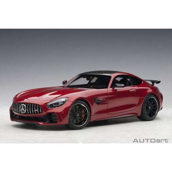 オートアート(AUTOart) 1/18 メルセデス・AMG GT R (メタリック・レッド)