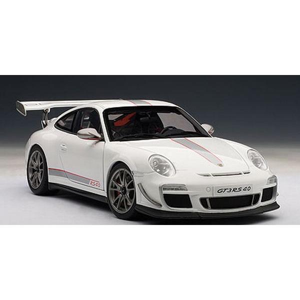 オートアート(AUTOart)1/18 ポルシェ 911 (997) GT3RS 4.0 (ホワイト)