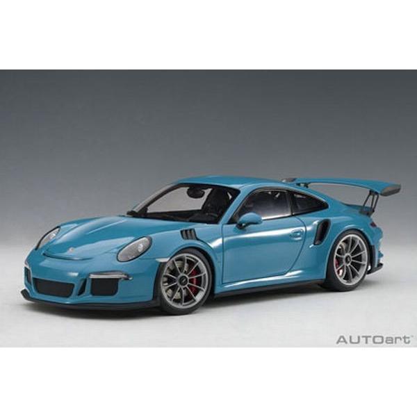 オートアート(AUTOart)1/18 ポルシェ 911 (991) GT3 RS (スカイブルー)