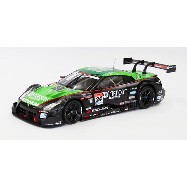 エブロ(ebbro)1/18 ディーステーション アドバン GT-R スーパーGT500 2014 Rd.2 Fuji No.24