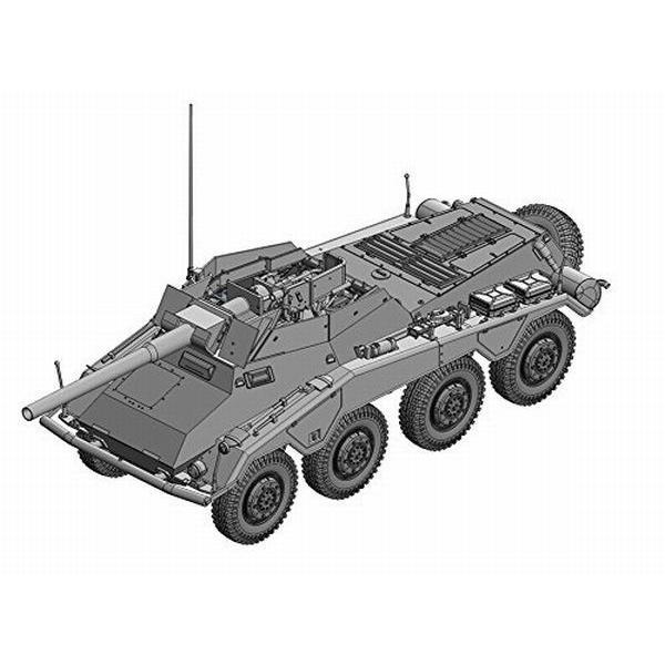 ドラゴン 1/35 第二次世界大戦 ドイツ軍 Sd.Kfz.234 8輪重装甲偵察車7.5cm L/48 プラモデル組立キット