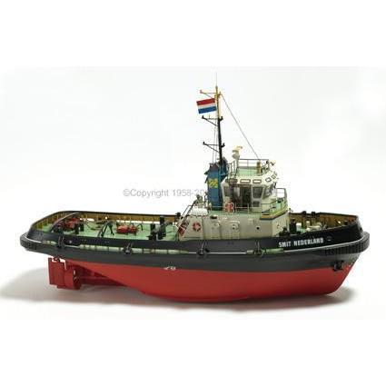 予約受付中!ビリング:BB528 1/33 スミット ネーデルランド(オランダのハーバータグ) 【電動ラジコン船舶組立キット】