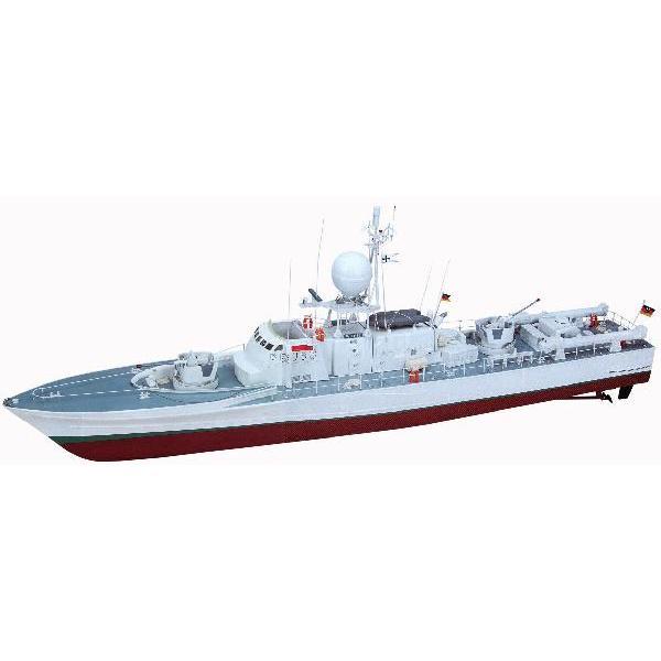 ■グラープナー■ラジコンボート1/40 (2145) WISEl (ビーゼル)ドイツの哨戒艇