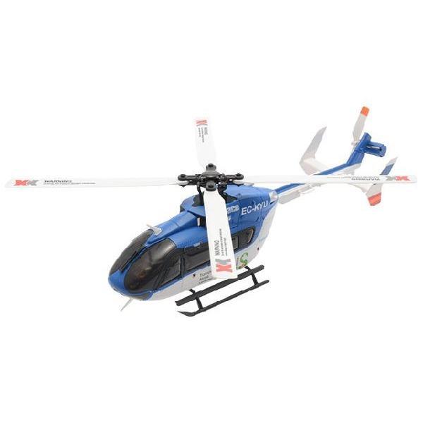 6CH ブラシレスモーター3D6Gシステムヘリコプター [K124]RTFキットXK(ハイテック)K124