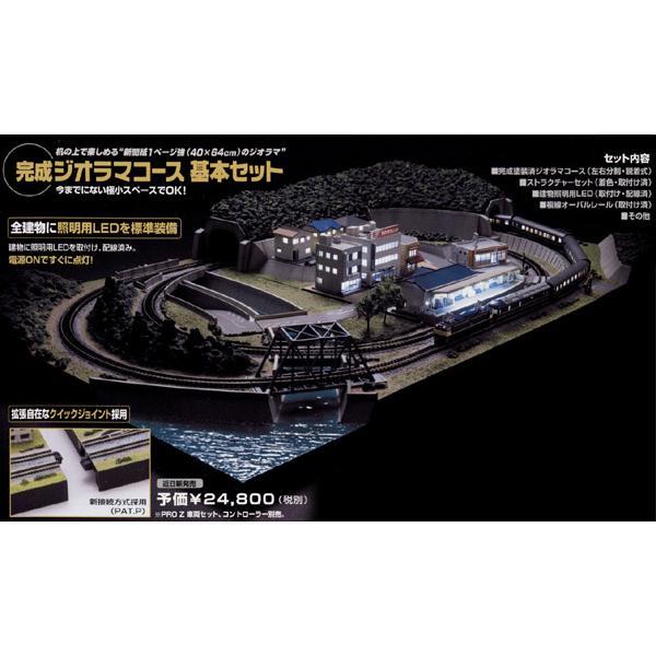 ■東京マルイ■PROZ 完成ジオラマコース 基本セット【鉄道模型Zゲージ】