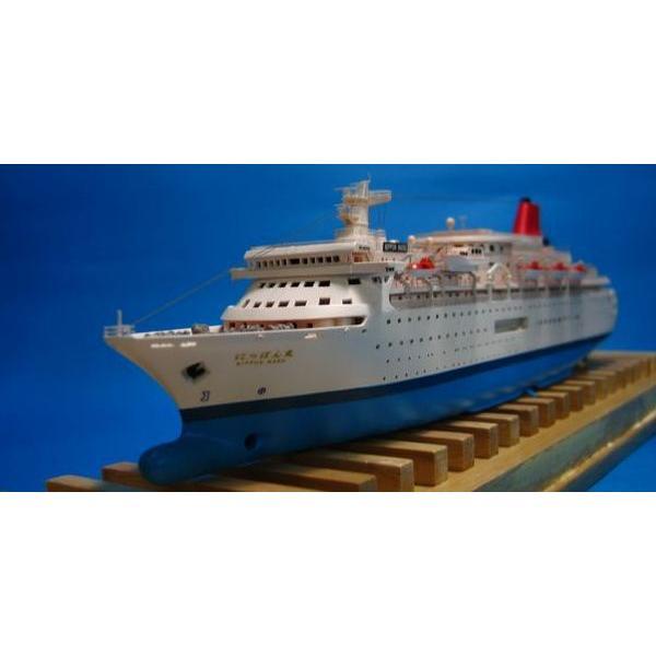オーシャン・ヴォヤージュ1/700商船三井客船 にっぽん丸 2009年時
