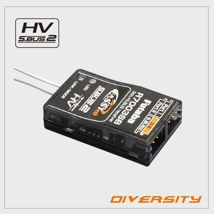 フタバ R7003SB 2.4GHz FASSTest 空用 18ch S.BUS対応テレメトリー受信機 <024450>