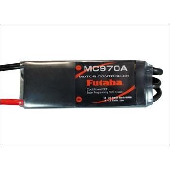 フタバ MC970A 飛行機用ブラシレスモーター専用ESC (50〜70クラスモーター用) <028298>