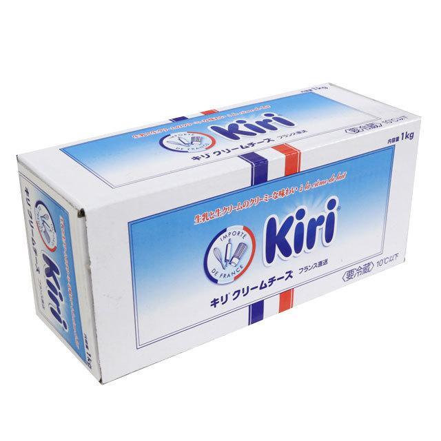 キリクリームチーズ KIRI 1kg 正規品送料無料 クール便 返品交換不可 N チーズケーキフェア C
