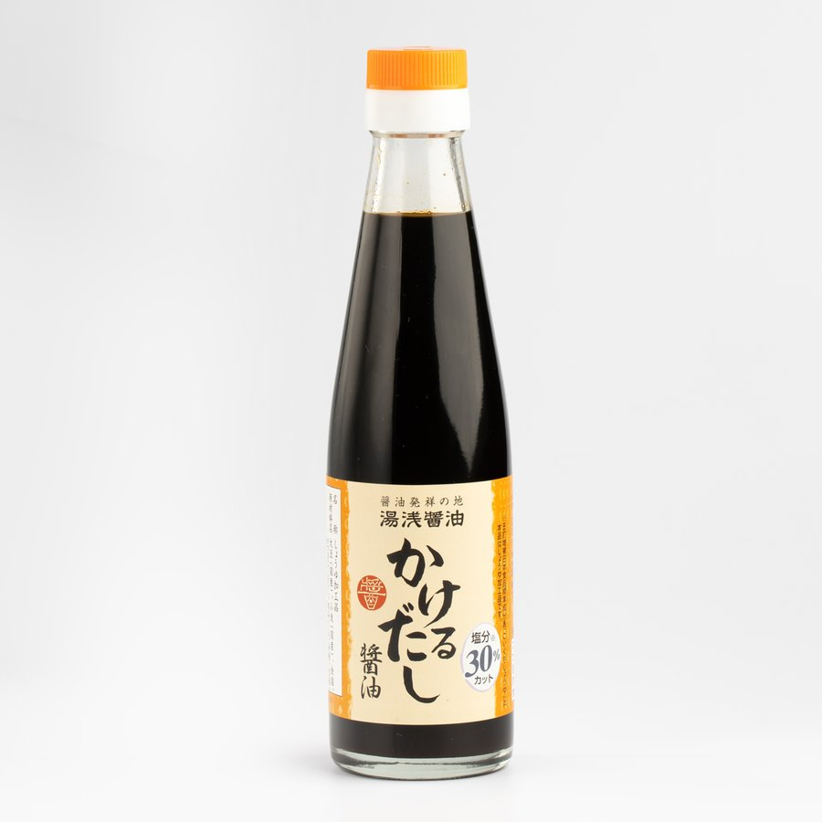 大規模セール 湯浅醤油 かけるだし醤油 200ml 減塩 5%OFF 丸新本家