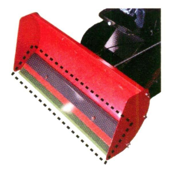 【OREC/オーレック】スノーグレーダーSGW802専用オプション『ゴムスクレーパーセット』[除雪/スノーグレーダー/ユキオスタイプ]