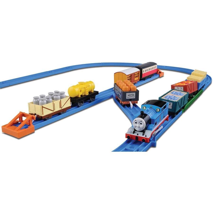 送料無料 公式ショップ 商舗 プラレール トーマスといっぱい貨車セット トーマス