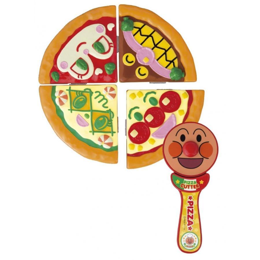アンパンマン くるくるザクっ! できたて アンパンマンのピザセット|marusounet