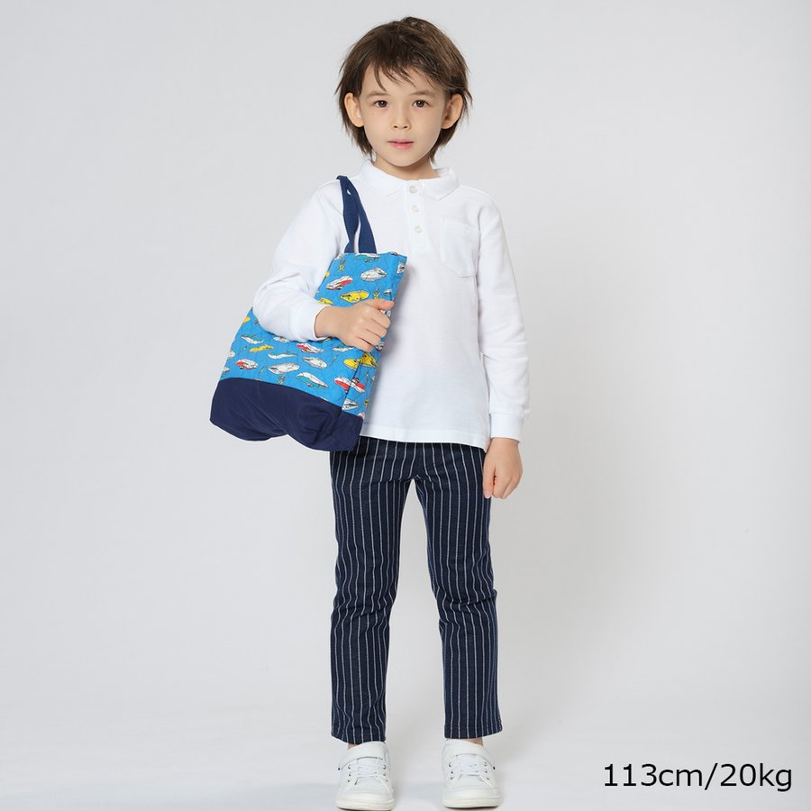 SPセール30%OFF価格:子供服 Hungry Heart (ハングリーハート) JR新幹線・電車柄レッスンバッグ・おけいこバック 男の子 キッズ B15621|marutaka-iryo|08