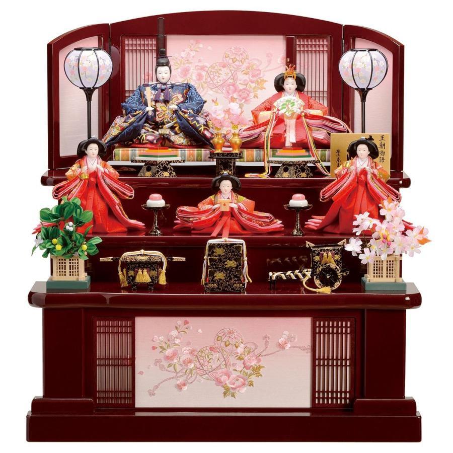 雛人形 三段 3段 東玉 彩花 三段飾り