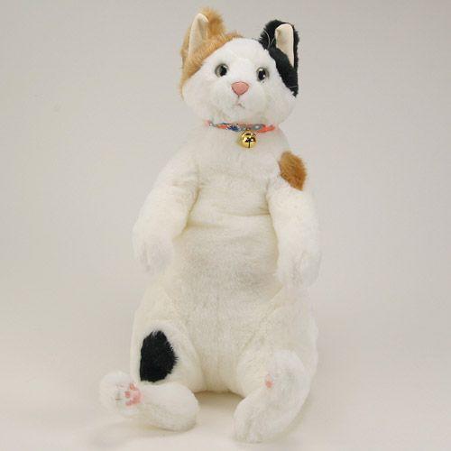 Cuddly ねこ ぬいぐるみ 小春 三毛猫 【カドリー/ヌイグルミ/猫/ネコ/日本製】