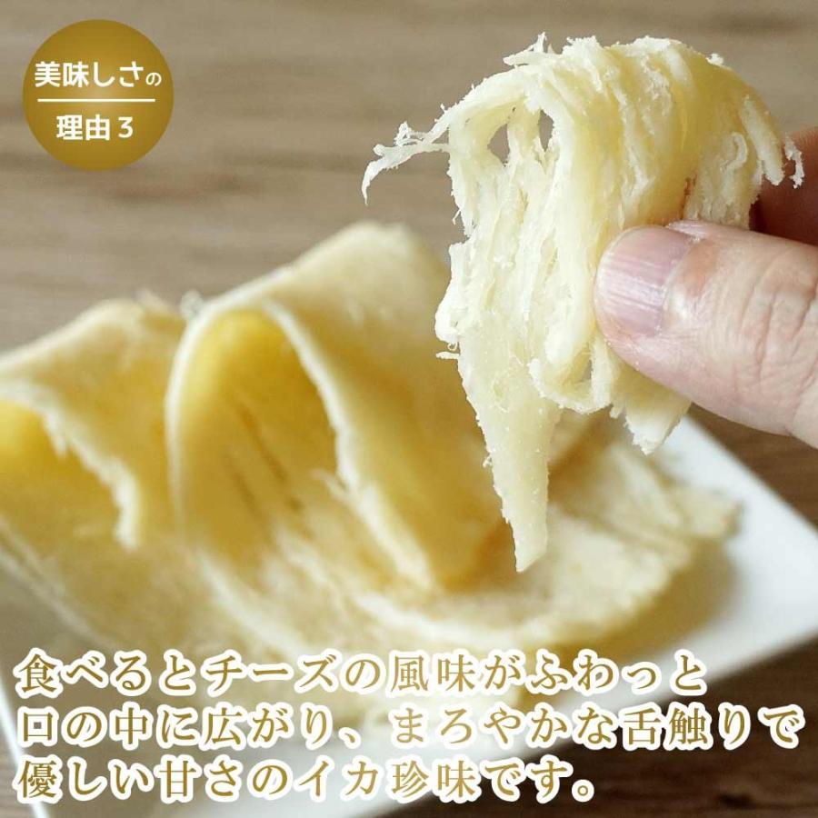 珍味 おつまみ チーズ 濃厚チーズイカ 110g のしいか チーズ さきいか まろやか 子供 おやつ 新食感 maruyuugyogyoubu 05