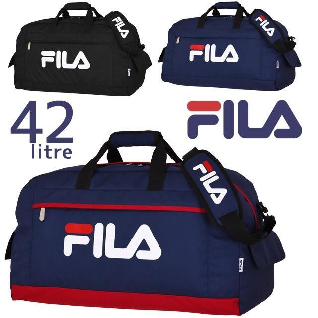 フィラ FILA ボストンバッグ スターリッシュ2 修学旅行バッグ 60センチ 新入荷 流行 7582 激安通販専門店 2WAY 42リットル デカロゴ