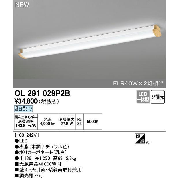 オーデリック ブラケットライト 【OL 291 029P2B】【OL291029P2B】