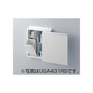 TOTO トイレ アクセサリー 【UGA431LS】 足元収納コンパクトタイプ(埋込あり) レストルームドレッサー スリムタイプC用 【UGA431LS#NW1/#ML/#MW】