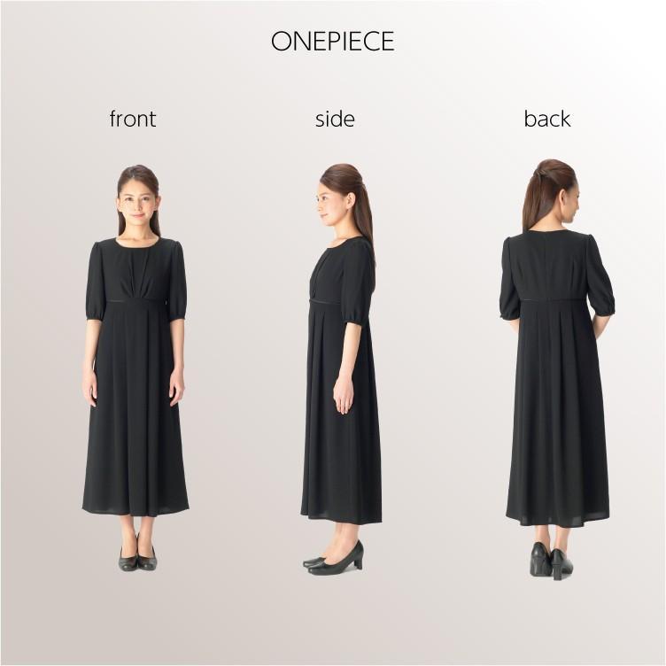 喪服 レディース  礼服 卒業式 入学式 ロング ブラックフォーマル スーツ  洗える 女性 ママスーツ marygold 11