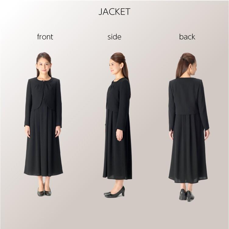 喪服 レディース  礼服 卒業式 入学式 ロング ブラックフォーマル スーツ  洗える 女性 ママスーツ marygold 10