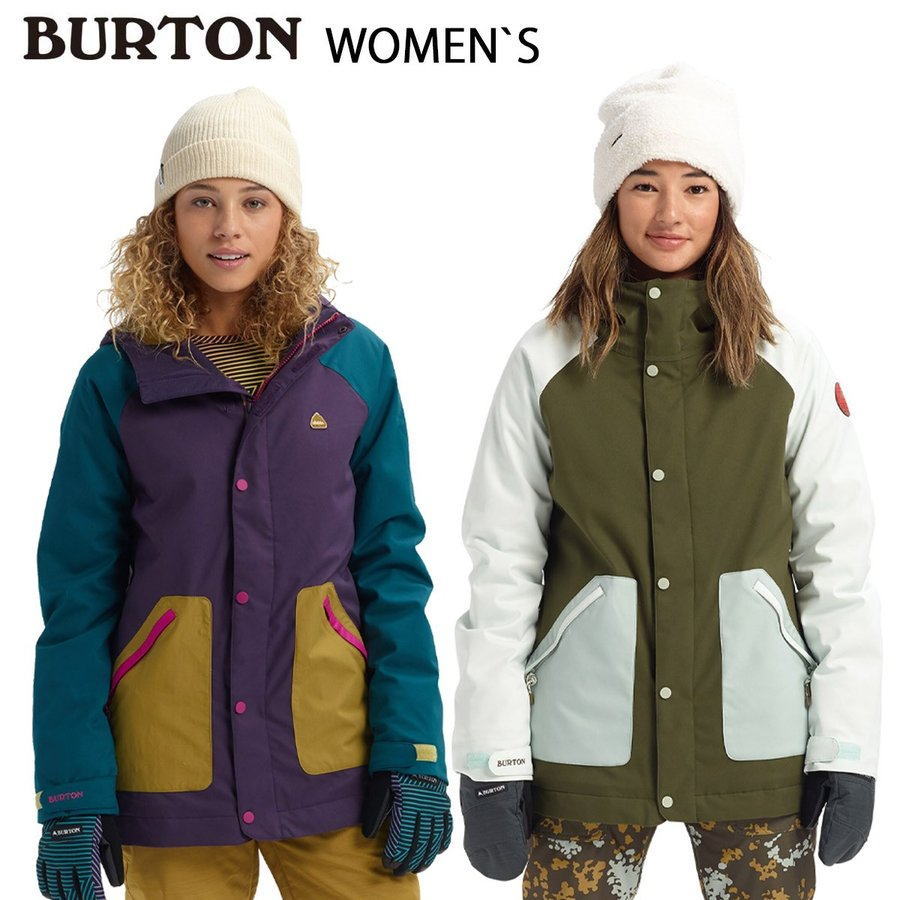 バートン スノーボードジャケット レディース BURTON 19-20 Women's Eastfall Jacket