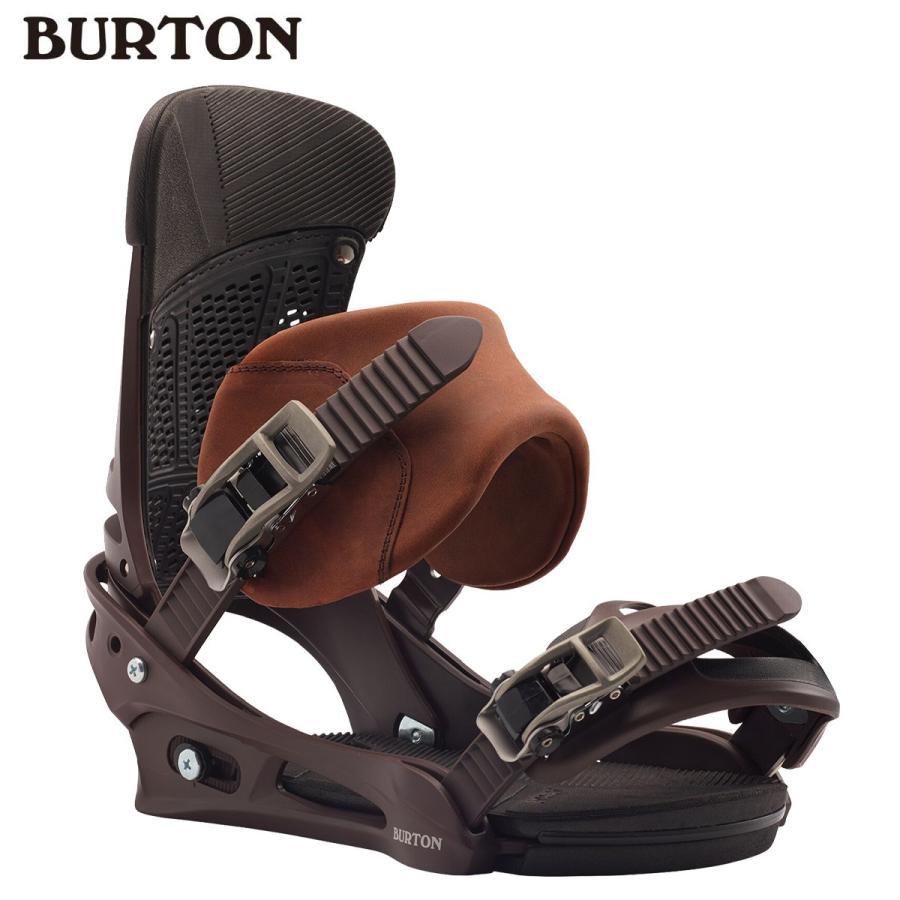 BURTON バートン 19-20 Men's Burton Malavita Leather Re:Flex Snowboard Binding